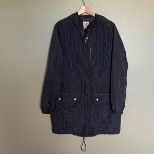 Abercrombie & Fitch long windbreaker jacket size L